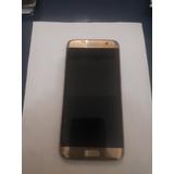 Celular Samsung S7 Edge Original Tela Trincada.