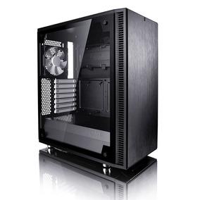 Gabinete Fractal Design Define C Vidrio Templado Negro Atx