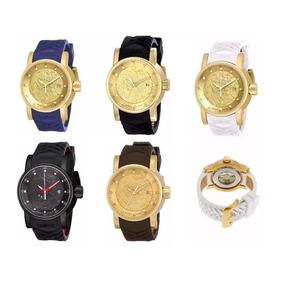 5894912b872 Relogio Masculino Dourado Invicta Falso - Relógios no Mercado Livre ...