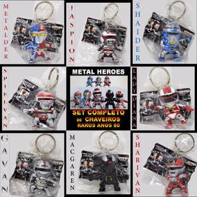 Jaspion 8 Chaveiro Gavan Sharivan Metalder Macgaren Spielvan