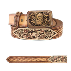Cinturones Cintos Vaqueros De Piel Para Hombre De Rio Grande 0ae432782b0c7