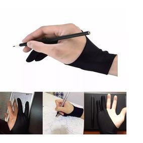Luva Para Desenho Tablet Pad 2und (dois Dedos) Promoção