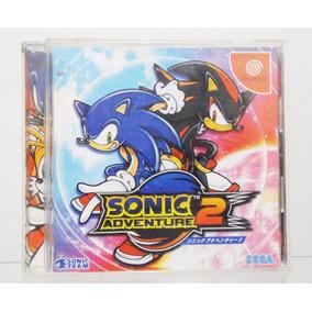 Sonic Adventure 2 Original Japonês Sega Dreamcast
