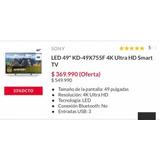 Televisor 49 4k Ultra Hd Smart Tv