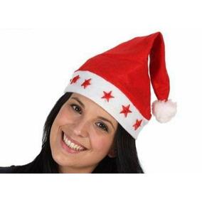 Gorro Navideño Luces Led Santa Claus Navidad Hombre Mujer