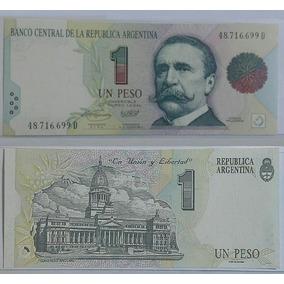 Billete 1 Peso Convertible 1° Diseño (1994). Unc.