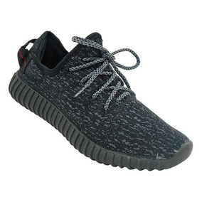 Tênis Adidas Yeezy Boost 350 Rajado Preto Masculino - Calçados ... f29036823eaf0