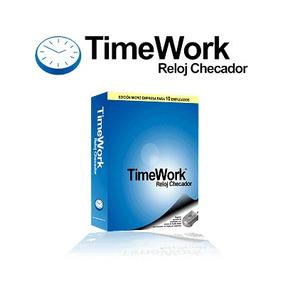 Software Timework Reloj Checador - Control De Personal