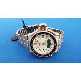 Relógio Aqualand Atlantis Jp2000 A3220 Aço Branco
