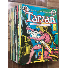 Coleção Tarzan Em Cores 2º Série 1 Ao 34 Joe Kubert - Ebal