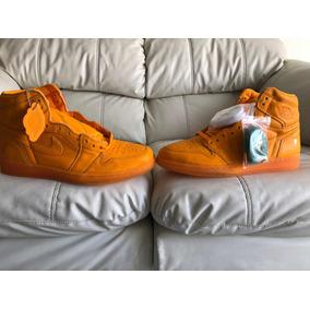 Tenis Air Jordan Retro 1 Gatorade Orange Del 31mx