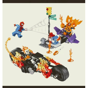 Motoqueiro Fantasma Compativel Lego