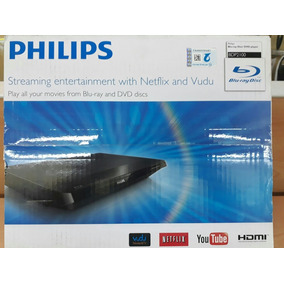 Blu-ray Philips Con Hdmi Para 1080 En Resolucion Control Rem