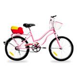 Bicicleta De Mujer/nena R20 Enrique Stars Rosa 602 *10