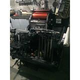 Máquina De Imprenta Minerva
