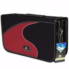 2 Case Porta Cd Dvd Bluray Maleta 80 Mídias Jiadai® Proteção