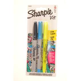 Kit De Marcadores Sharpie X3 Unidades