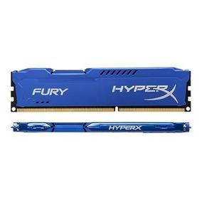 Memória Kingston Ddr3 Hyperx Fury Ddr3 8gb 1600mhz Desktop