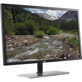 Monitor Aoc Led 28 4k 1 Ms Hdmi Dvi Vga Display Port