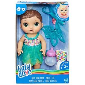 Boneca Baby Alive Hora Da Festa Morena Hasbro B9724 + Nfe