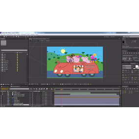 Projeto Editavel After Effects - Peppa Pig