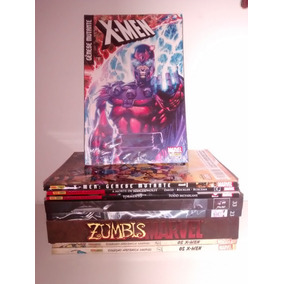 Kit Hqs Gênese Mutante 1 E 2 + Zumbis Marvel Entre Outros