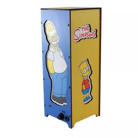 Luminaria Torre Simpsons Familia Zona Criativa