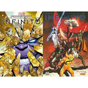 Infinito - Marvel -minissérie Completa - 6 Volumes - Panini