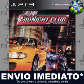 Midnight Club 1 Ps3 Midia Digital Psn Envio Imediato