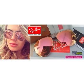 Oculos Feminino Espelhado - Óculos De Sol no Mercado Livre Brasil 15aa350494