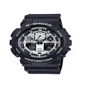Relogio Casio G Shock Ga-100 Bw 100% Original