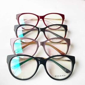 Armacao De Oculos De Grau Bvlgari - Óculos no Mercado Livre Brasil 8b82c96350