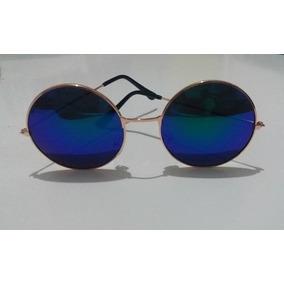 Oculos John Lennon Dourado - Óculos no Mercado Livre Brasil 990642fb34