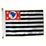 Bandeira Oficial De São Paulo Tam 22x33cm ( Motos E Carros )