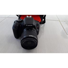Câmera Digital Canon Eos Rebel T6 Dslr18 Mp 3 Gravação Eost6