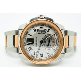 Relógio Cartier Calibre (2-tones)
