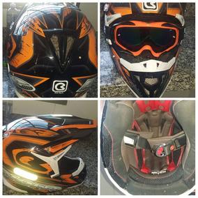 Capacetes Motocross Numero 56 - Acessórios de Motos, Usado no ... 6bb43bcb8f