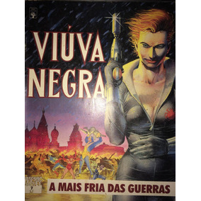 Viuva Negra Graphic Marvel 7 A Mais Fria Das Guerras