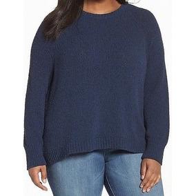 Sweater Azul Marino Mujer - Ropa y Accesorios en Mercado Libre Colombia eb60ef938399