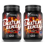 Burnway Fitoway 240 Cápsulas 420mg Cafeina