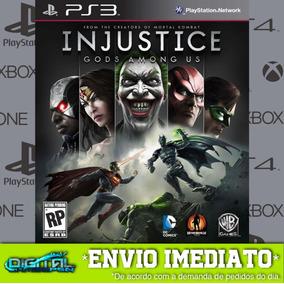 Injustice Gods Among Us Ps3 Psn Midia Digital Em 10 Minutos!
