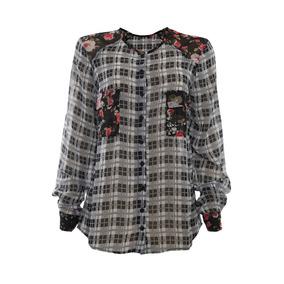 Camisas Xadrez Feminina - Camisa Casual Manga Longa Feminino no ... 434259c2a9a