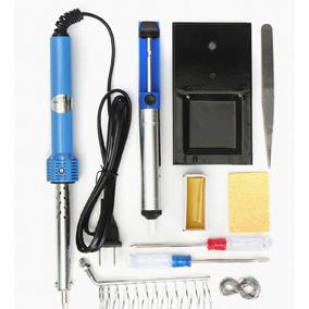 Kit Solda Elétrica Conjunto Completo
