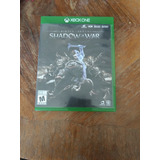 Shadows Of War Xbox One