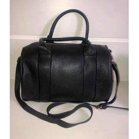 fdbd1888d47 Bolsa Preta Couro Forever 21 - Bolsa de Couro Sintético Femininas no ...