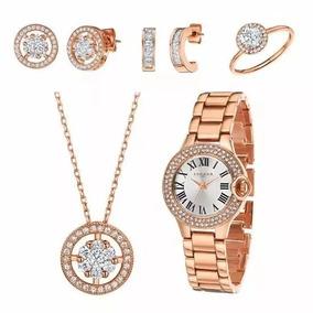 Relogio Ouro Rosa Marc Jacobs - Relógios no Mercado Livre Brasil 2bf4156a94