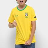 b6292d2282 Camisa Nike Brasil Infantil Pp - Futebol no Mercado Livre Brasil