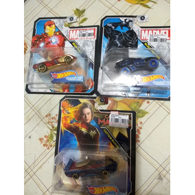 Hot Wheels Lote Character Cars Marvel Heroes Iron Man
