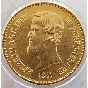 Moeda De Ouro 20000 Réis - 1851