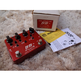 Pedal Overdrive Distortion Bb + Plus Bb Preamp Xotic Usa Top